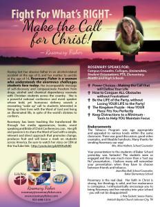 Rosemary Fisher OneSheet WEB