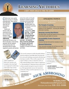 Nick Ambrosino One Sheet