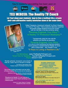 Teej Mercers One Sheet